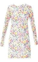 MSGM Floral Lace Dress - Lyst
