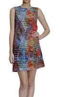M Missoni Kaleidoscopeprint Silk Shift Dress - Lyst