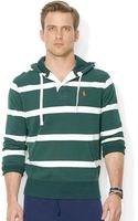 Polo Ralph Lauren Striped Fleece Hoodie - Lyst