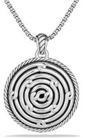 David Yurman Labyrinth Small Disc Pendant - Lyst