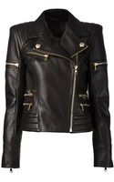 Balmain Biker Jacket - Lyst