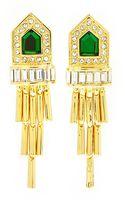 Rachel Zoe Gold-plated Deco Fringe Earrings - Lyst