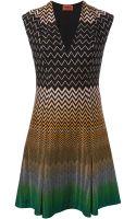 Missoni Zig Zag Pattern Dress - Lyst