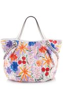 Henri Bendel Wildflower Izak Graphic Shopper - Lyst