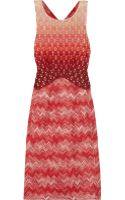 Missoni Metallic Crochet knit Dress - Lyst