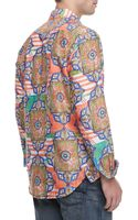 Robert Graham Margari Printed Sport Shirt Orange - Lyst