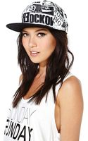 Nasty Gal Breaking News Cap - Lyst