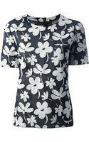 Marni Floral Print Blouse - Lyst