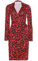 Diane Von Furstenberg New Jeanne Two Silkjersey Wrap Dress - Lyst