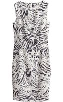 H&M Figurefit Dress - Lyst