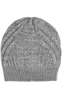 Duffy Merino Wool Knit Beanie - Lyst