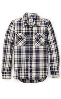 Mark Mcnairy New Amsterdam Gingham Check Overshirt - Lyst