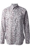 PS by Paul Smith Floral Print Shirt - Lyst
