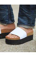 Free People Eshe Platform Footbed - Lyst