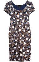 Cynthia Rowley Bonded Cap Sleeve Sheath Dress - Lyst