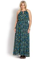 Forever 21 Dreamer Abstract Maxi Dress - Lyst