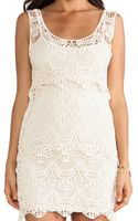 Ladakh Cotton Crochet Dress - Lyst