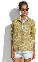 Madewell Chimalareg Camo Coverall Jacket - Lyst