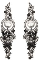 Mikey Hanging Drop Crystal Earring - Lyst
