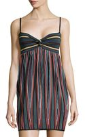 M Missoni Sweetheart-neck Sleeveless Dress - Lyst