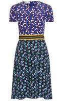 Stella McCartney Petra Printed Silk Dress - Lyst