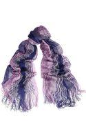 Missoni Crochetknit Scarf - Lyst