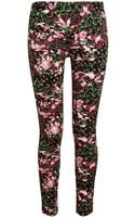 Givenchy Floral Printed Leggings - Lyst