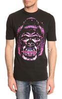 DSquared2 Black Gorilla Tshirt - Lyst