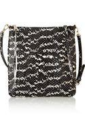Rebecca Minkoff Cayden Snakeskin Effect Leather Shoulder Bag - Lyst