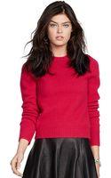 Polo Ralph Lauren Wool Crewneck Sweater - Lyst