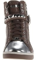 Michael by Michael Kors Glam Studded High Top - Lyst