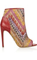 Jerome C. Rousseau Juda Deco Calf Hair and Leather Ankle Boots - Lyst