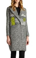 Diane Von Furstenberg Nala Tweedprint Coat - Lyst