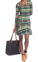 Plenty By Tracy Reese Multicolor Graphic Print Dress - Lyst