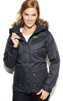 Helly Hansen Harmony Hooded Faux-fur-trim Ski Jacket - Lyst