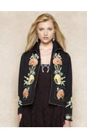 Blue Label Embroidered Wool-blend Jacket - Lyst