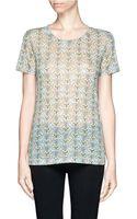 Rag & Bone Printed Classic Tshirt - Lyst