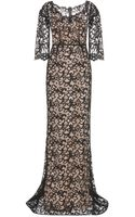 Dolce & Gabbana Lace Gown - Lyst