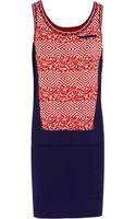 Prabal Gurung Jacquardknit Wool Mini Dress - Lyst