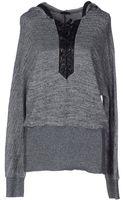 Pinko Hooded Sweatshirt - Lyst