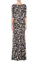 Erdem Valentina Floral-print Maxi Dress - Lyst