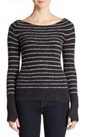 Free People Misty Striped Pullover - Lyst