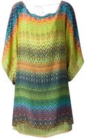 M Missoni Draped Shift Dress - Lyst