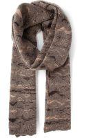 Missoni Intarsia-knit Scarf - Lyst