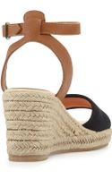 Soludos Canvas Espadrille Wedge Sandal - Lyst
