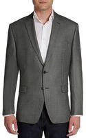 Calvin Klein Silk  Wool Birdseye Sportcoatslimfit - Lyst
