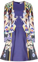 Mary Katrantzou Chrono Totem Printed Dress - Lyst