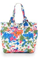 Marc By Marc Jacobs Pretty Nylon Paint Splatter Medium Tote - Lyst