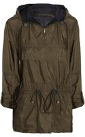 Burberry Brit Packaway Drawstring Shell Jacket - Lyst