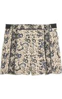 Madewell Silk Shorts in Irisvine - Lyst